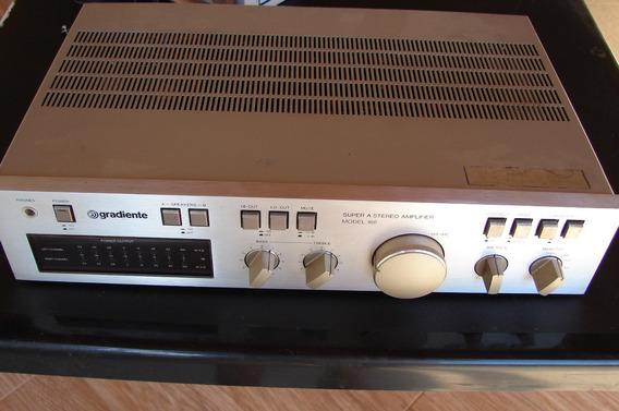 Amplificador Gradiente Model 166, Linha Compo