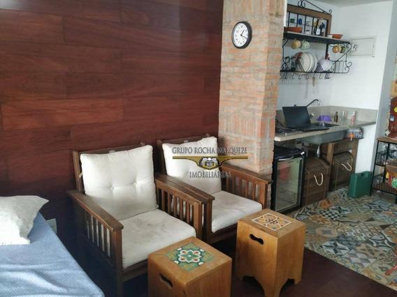 Studio Com 1 Dormitório À Venda, 35 M² Por R$ 375.000,00 - Tatuapé - São Paulo/sp - St0061