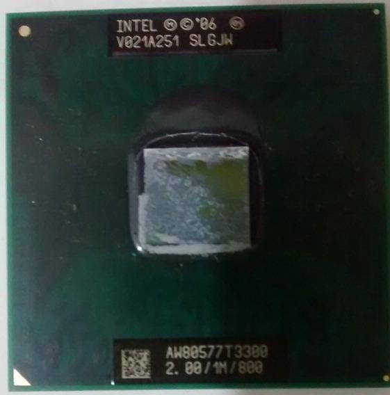 Processador Notebook Intel Celeron T3300 2ghz/1m/800 Slgjw