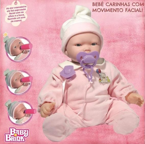 2 Bebe Carinhas 45cm Muito Fofa Lançamento Baby Brink