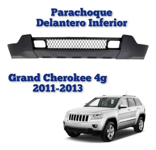 Parachoque Delantero Inferior Grand Cherokee 2011 2012 2013