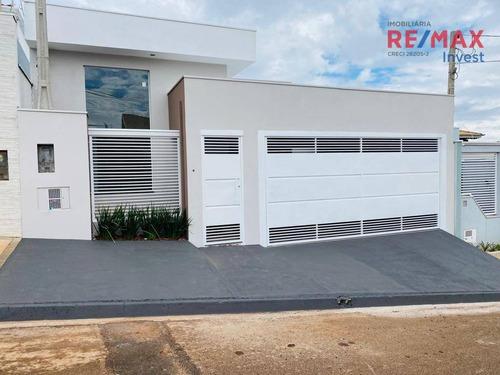 Imagem 1 de 30 de Casa Com 3 Dormitórios À Venda, 170 M² Por R$ 550.000,00 - Jardim Ypê - Botucatu/sp - Ca1149