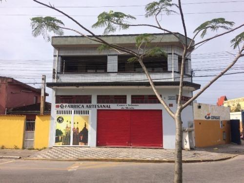 Prédio Comercial Com Moradia, No Bairro Anchieta, Itanhaém