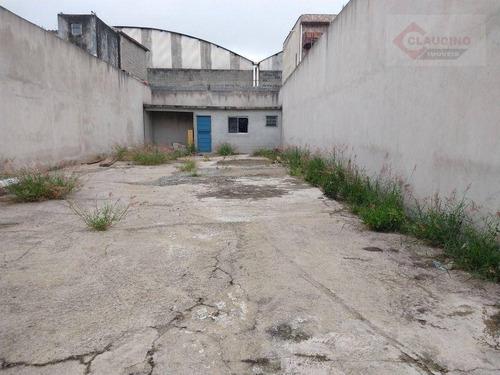Imagem 1 de 2 de Terreno Para Alugar, 150 M² Por R$ 3.000/mês - Vila Antonieta - São Paulo/sp - Te0316