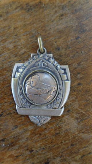 Antigua Medalla De Golf Semana De Bahía Blanca De 1945