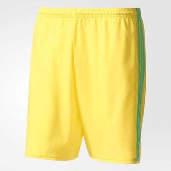 Short adidas Futbol Condivo 16 Verde Env Rápido Caba-gcba