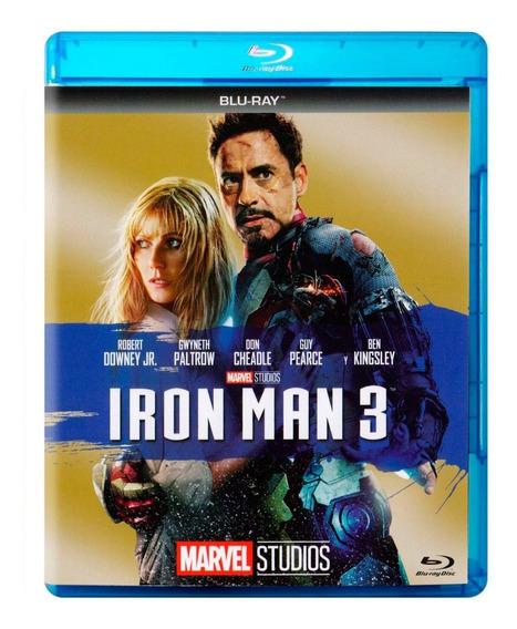 Iron Man 3 Marvel Fase 2 Pelicula Blu-ray