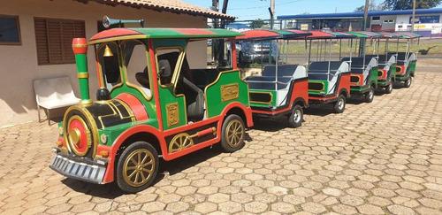 Mini Trenzinho Motorizado Usado