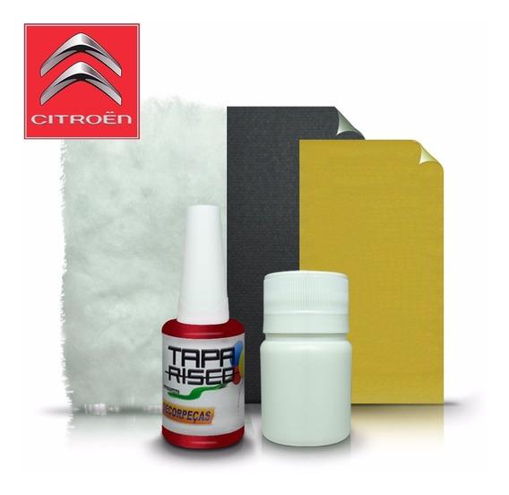 Tinta Tapa Risco + Kit Polimento Citroen Vermelho Lucifer