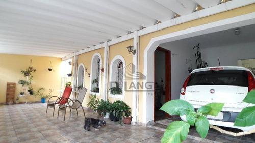 Casa À Venda, 120 M² Por R$ 490.000,00 - Jardim Vista Alegre - Campinas/sp - Ca13795