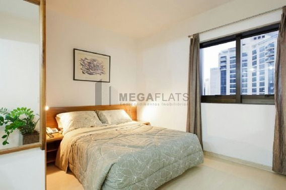 05848 - Flat 1 Dorm. (1 Suíte), Moema - São Paulo/sp - 5848