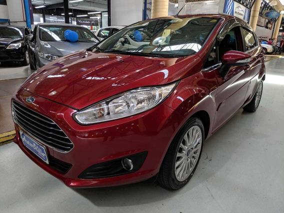 Ford New Fiesta Titanium 1.6 Flex Vermelha 2014 (automático)