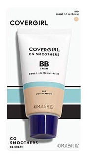 Bb Cream Covergirl Cg Smoothers 810 Light To Medium 10 In 1