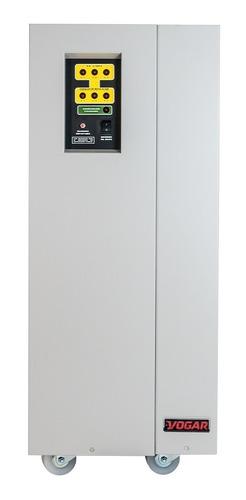 Vogar® Regulador Electrónico De Voltaje. Trifásico 45 Kva