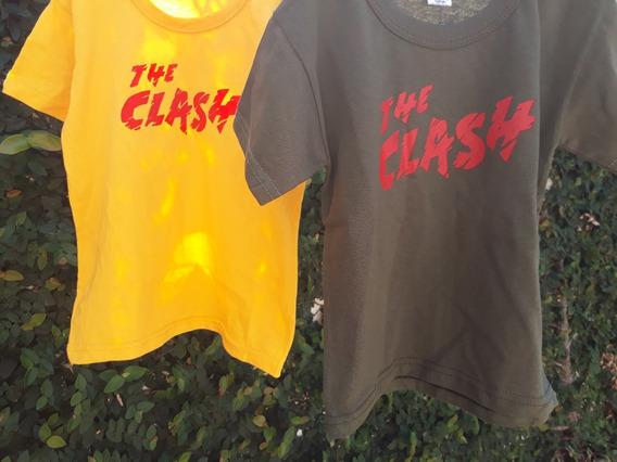 Remeras Infantiles The Clash
