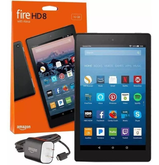 Tablet Android Amazon Fire Hd8 16gb 8ª Geração C/alexa + Nf