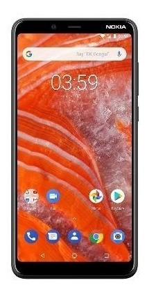 Nokia Telefono Celular 3.1 Plus Ss Carbon 3-32