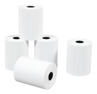 60 Rollos Papel Térmico 80x30 Shure Papers