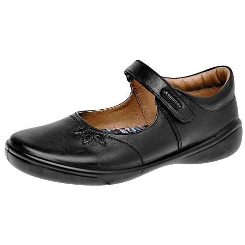 Zapato Escolar Mujer Negro Coqueta 69927 Pv19 Envió Gratis!!