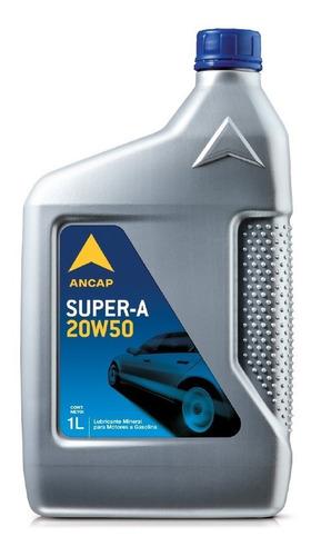 Aceite Para Motor Nafta 20w50 Super A De Ancap Oferta 1 Lt