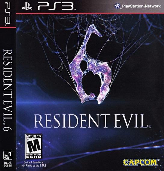 Resident Evil 6 Português Ps3 - Midia Digital