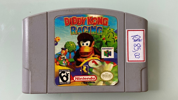 Cartucho Diddy Kong Racing 64