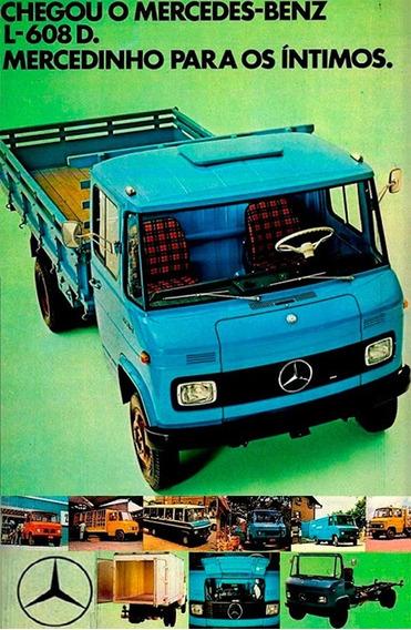 Mercedes Bens 608 D (todas As Peças Em Perfeito Estado)