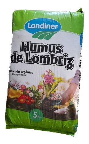 Humus De Lombriz Californiana 5 Litros