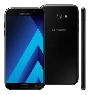Samsung Galaxy A7 2017 Preto, 64gb Duos 16mp, Leia O Anúncio