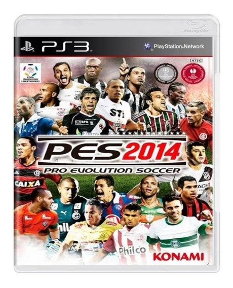 Pro Evolution Soccer 2014 Original Pes 14 Ps3 Mídia Física