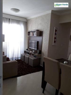 Apartamento À Venda, No Condomínio Champs Du Bagatelle 55 M² Por R$ 265.000 - Macedo - Guarulhos/sp - Ap0100