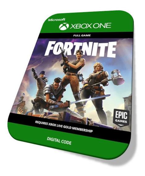 Fortnite Pacote Fundador Padrão Xbox One Código 25 Digitos