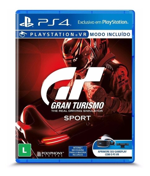 Gran Turismo Sport Gt Ps4 Blu-ray Lacrado - Envio Imediato