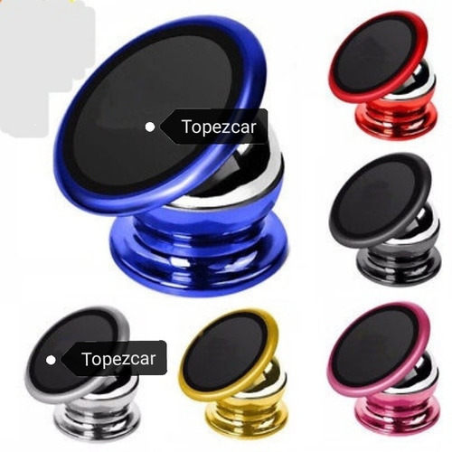 Magnetico Soporte Holder Porta Celular Universal Para Autos