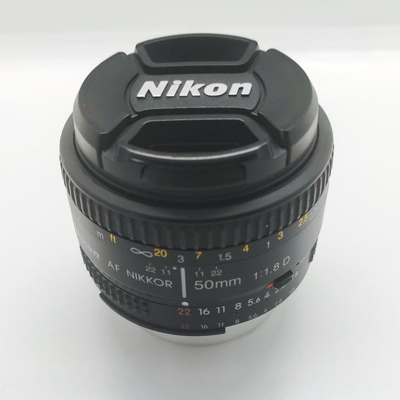 50mm 1.8d Nikkor Original Nikon