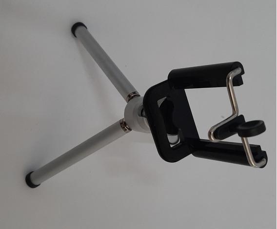 Mini Tripe Para Câmera, Webcam, Filmadora Ou Smartphone