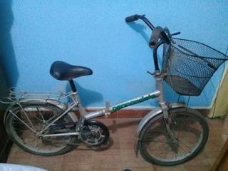 Bicicleta Legnano Plegable Rodado 20 Tipo Aurorita
