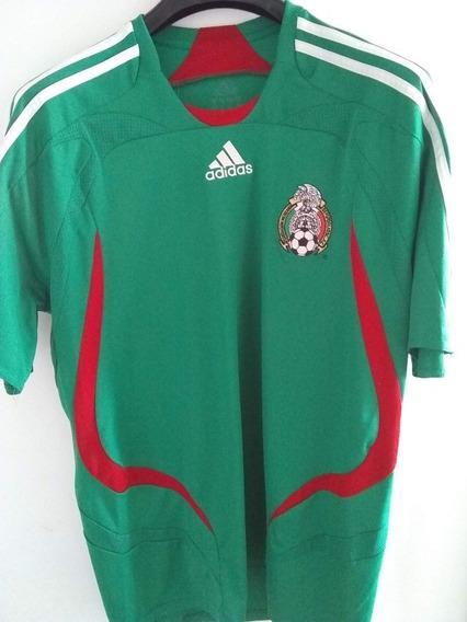 Camiseta México - Copa América 2007 - adidas - Talle L