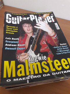 Lote Guitar Player - 20 Revistas