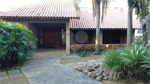 Excelente Casa C/ 3 Suites, 3 Salas, Lareira, Sacada, Piscina, Quiosque, Sótão E 8 Vagas P/ Carro. - 28-im418747