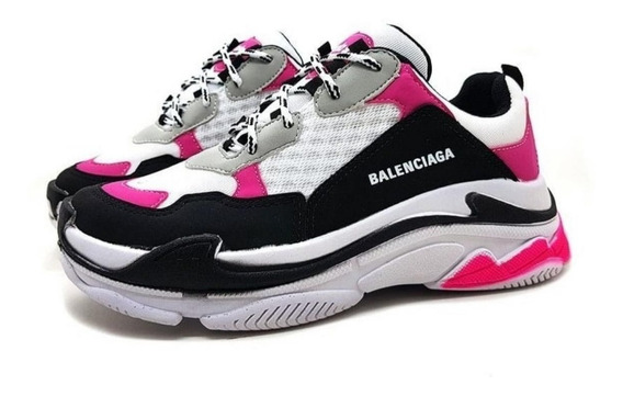 Tênis Balenciaga Triple-s Feminino Lançamento Envio Rápido