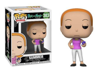 Funko Pop 303 Rick And Morty - Summer