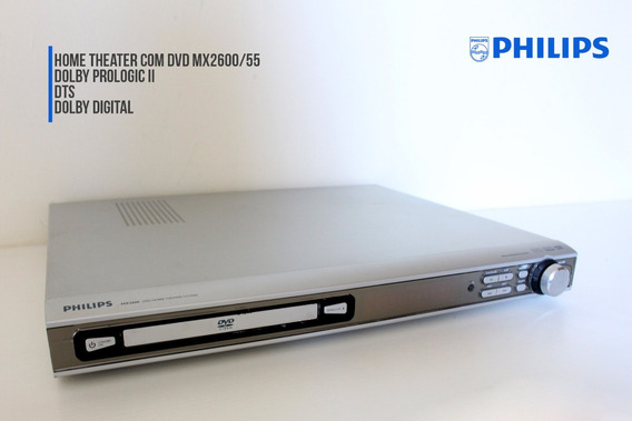 Home Theater Philips Com Dvd - Mx2600/55