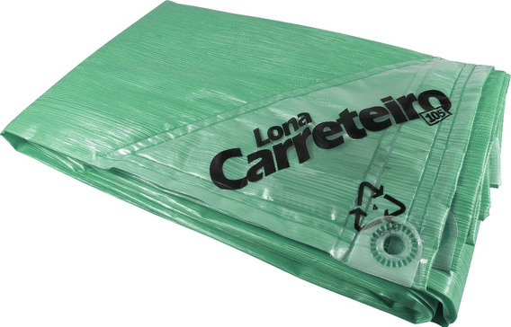 Kit 2 Lona Capa Carreteiro 4x3 Verde Reforçada Multiuso
