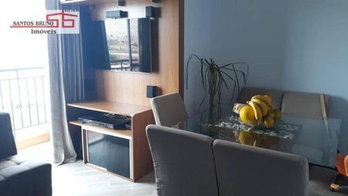 Imagem 1 de 18 de Apartamento À Venda, 50 M² Por R$ 299.000,00 - Limão (zona Norte) - São Paulo/sp - Ap3949