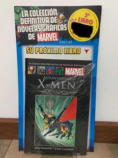 Libro Marvel Salvat Cómics Astonishing X-men: Dotados