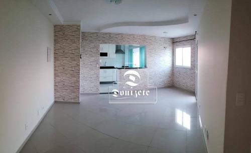 Apartamento Com 2 Dormitórios À Venda, 80 M² Por R$ 456.000,00 - Campestre - Santo André/sp - Ap11644