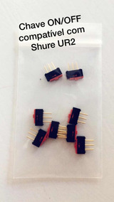 Chave On/off Shure Ur2 Deslizante Power Switch