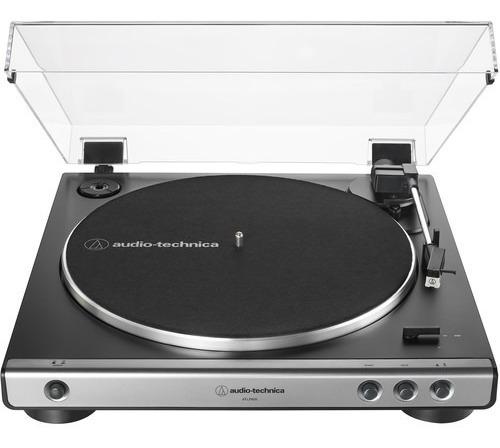 Toca Discos Estéreo Audio-technica  At-lp60x -gm Grafite