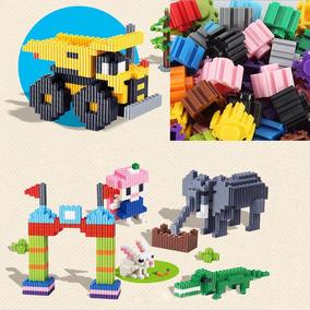 Blocos Montar Plástico Crianças 200pcs Pronta Entrega